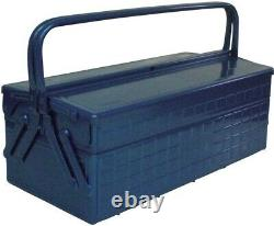TRUSCO two-stage tool box 472X220X289 blue GL-470-B From Japan