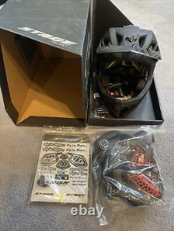 Troy Lee Designs Stage Helmet Stealth Midnight XS/SM. New Open Box