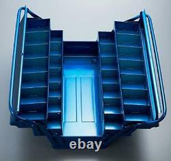 Trusco GT-470-B GT470B Three-Stage tool box BLUE JAPAN