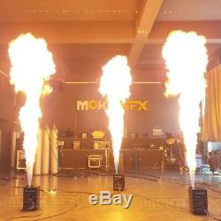 Updated DMX Flame Machine fire machine for Stage Show Flame Projector jet 4m