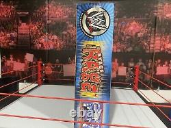 WWE Jakks Pacific Stage of Rage Smackdown Entrance Stage Set Mint In Box