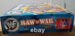 WWF WWE Jakks Pacific Raw is War Backstage Entrance Stage Playset