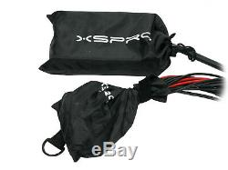 XSPRO 16 X 4 Channel 50' Pro Audio Low Profile Stage Box Snake Cable 16x4x50