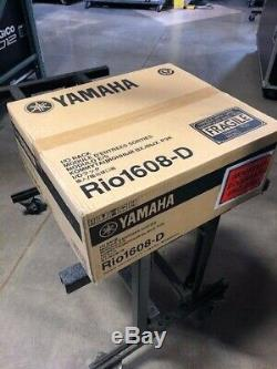 Yamaha Rio1608-D Digital Stage Box Factory sealed, incl Manuf 1 yr warranty