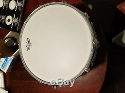 Yamaha Stage Custom Steel Snare Drum open box & Upgraded unplayed 6 1/4 X 14